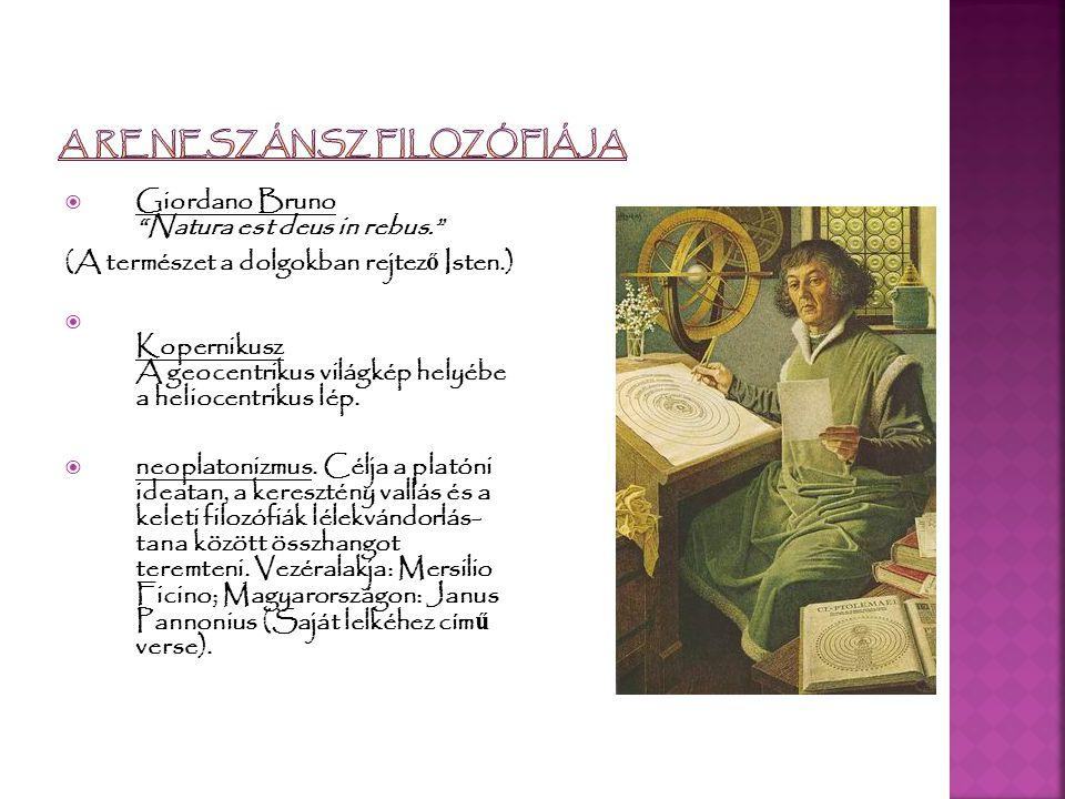 A reneszánsz filozófiája