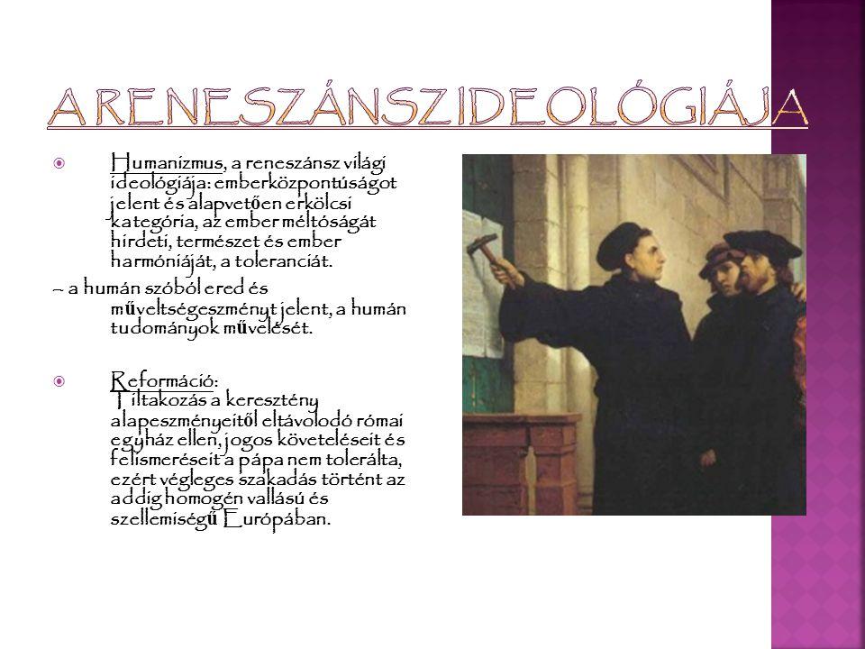 A reneszánsz ideológiája