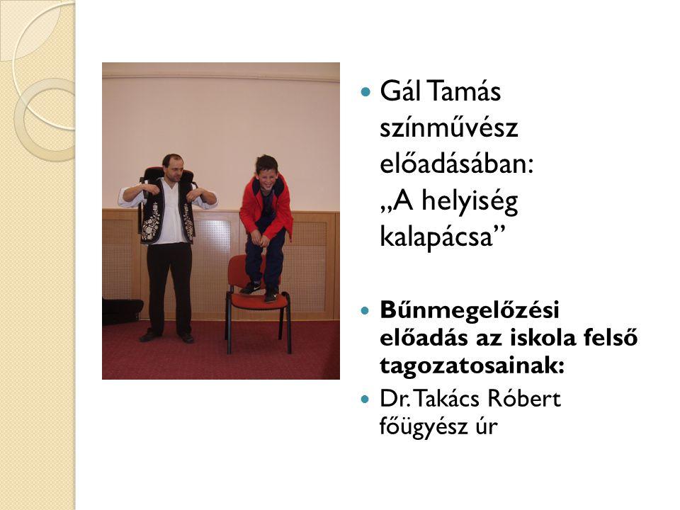 """Gál Tamás színművész előadásában: """"A helyiség kalapácsa"""