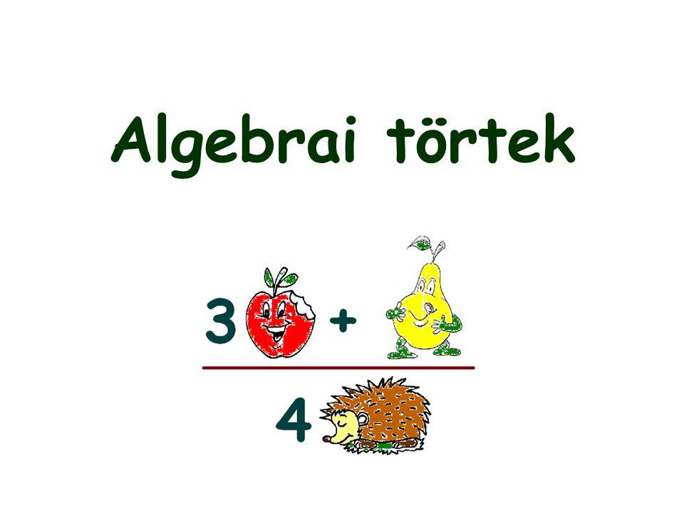 Algebrai törtek
