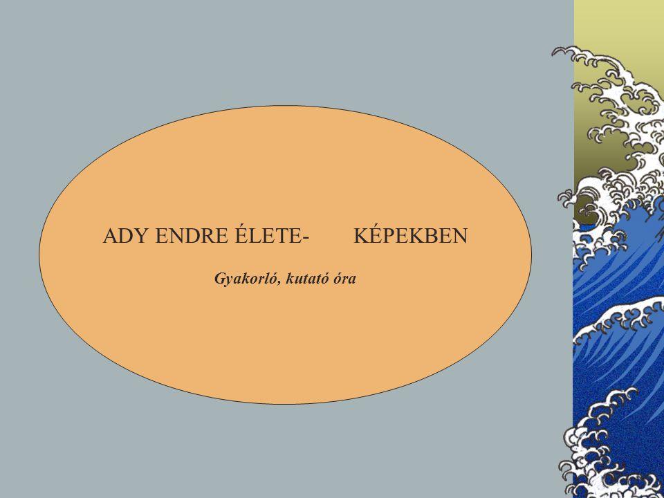 ADY ENDRE ÉLETE- KÉPEKBEN