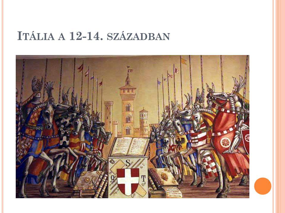 Itália a 12-14. században