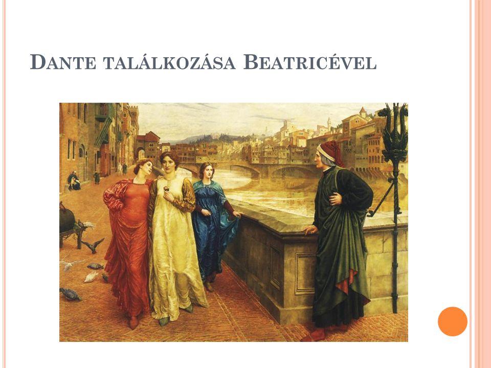 Dante találkozása Beatricével