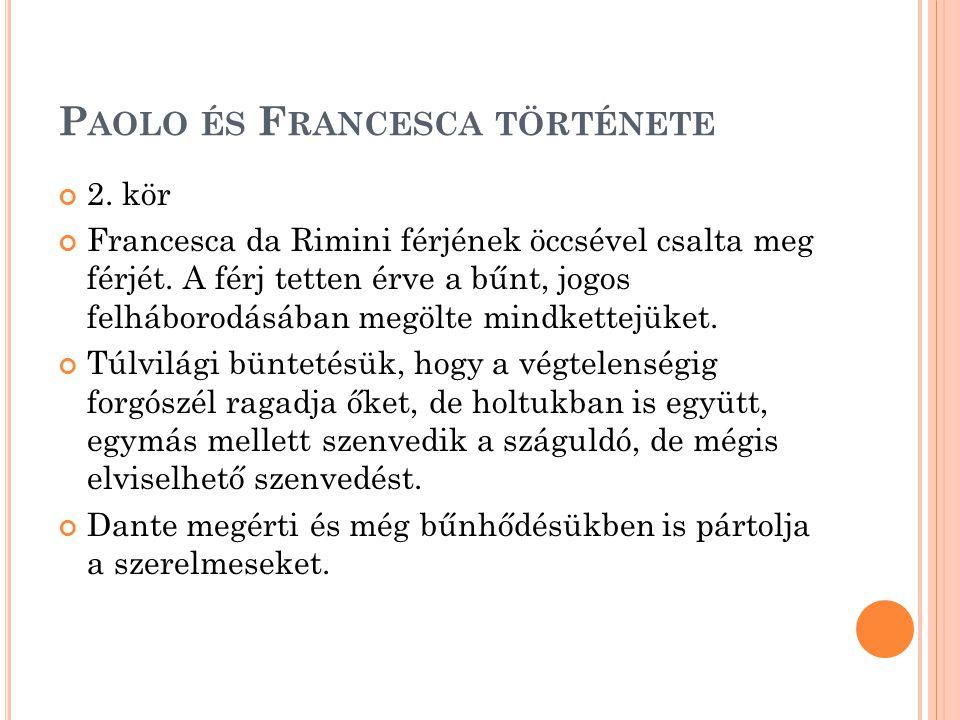 Paolo és Francesca története