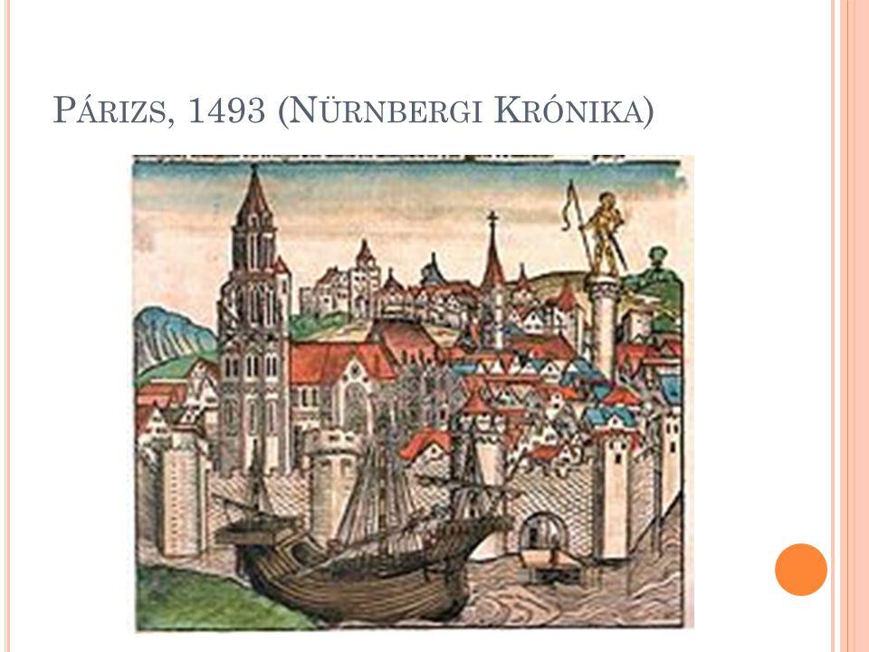 Párizs, 1493 (Nürnbergi Krónika)
