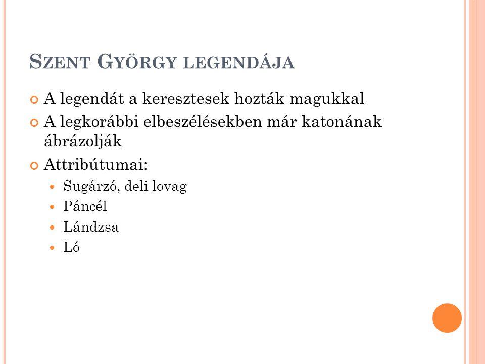 Szent György legendája