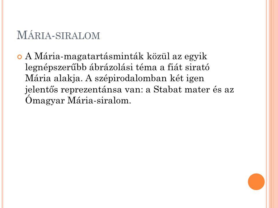 Mária-siralom