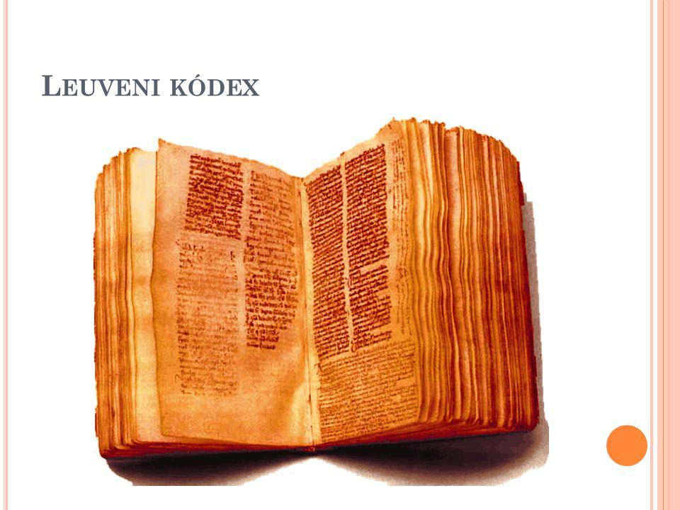 Leuveni kódex