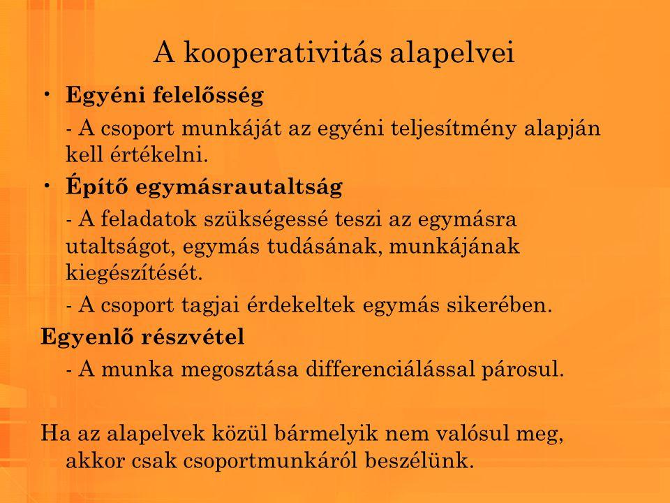 A kooperativitás alapelvei