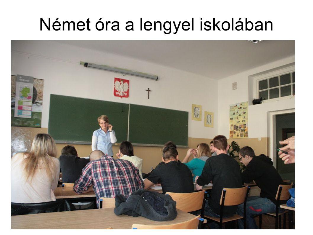 Német óra a lengyel iskolában