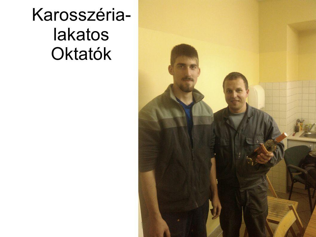 Karosszéria- lakatos Oktatók