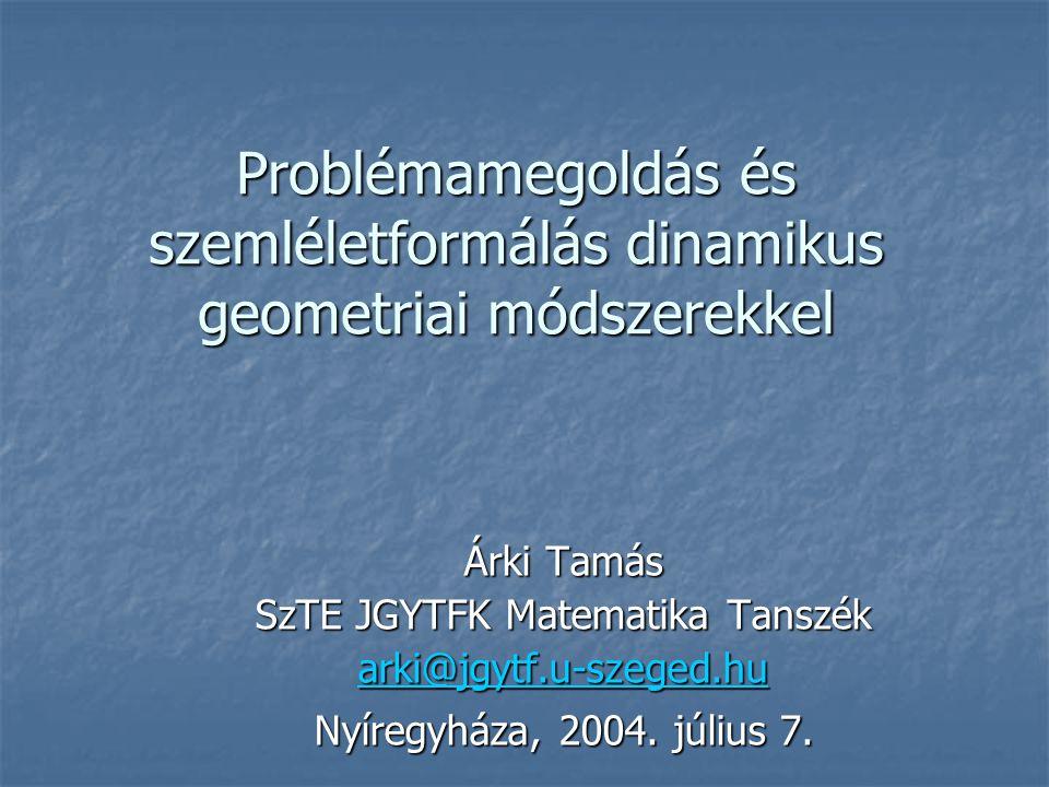 SzTE JGYTFK Matematika Tanszék
