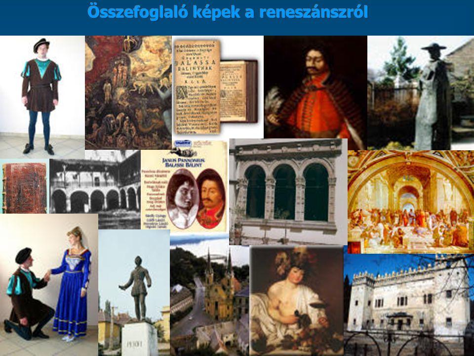 Összefoglaló képek a reneszánszról
