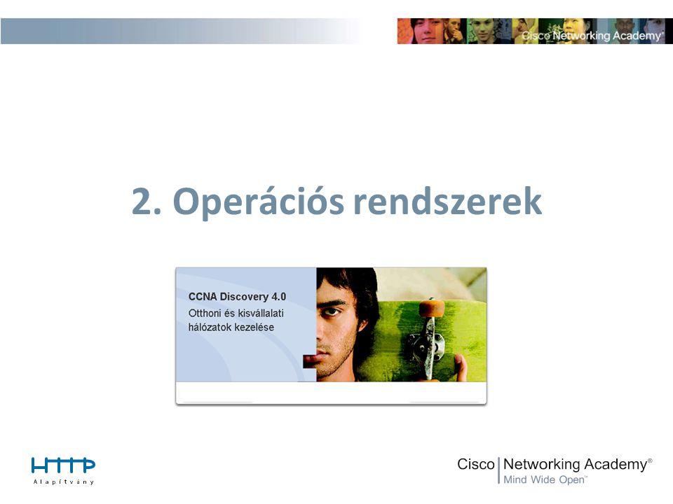 2. Operációs rendszerek