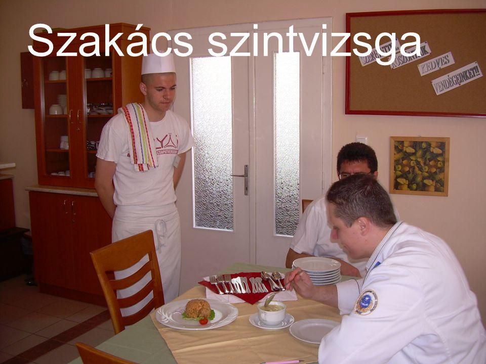 Szakács szintvizsga