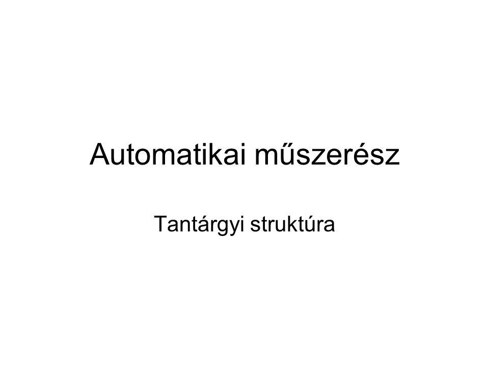 Automatikai műszerész