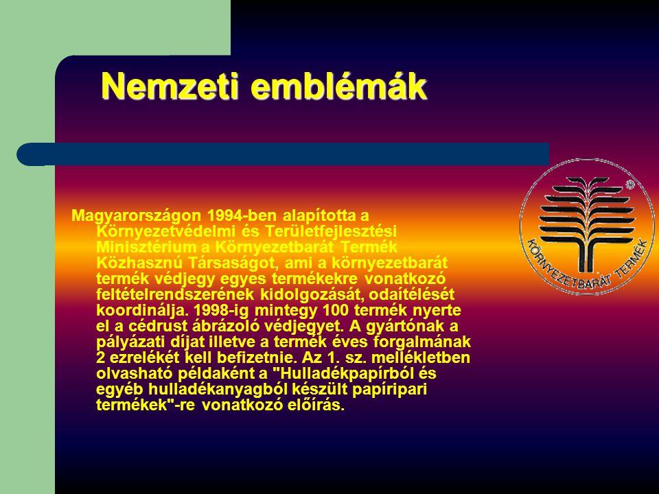 Nemzeti emblémák