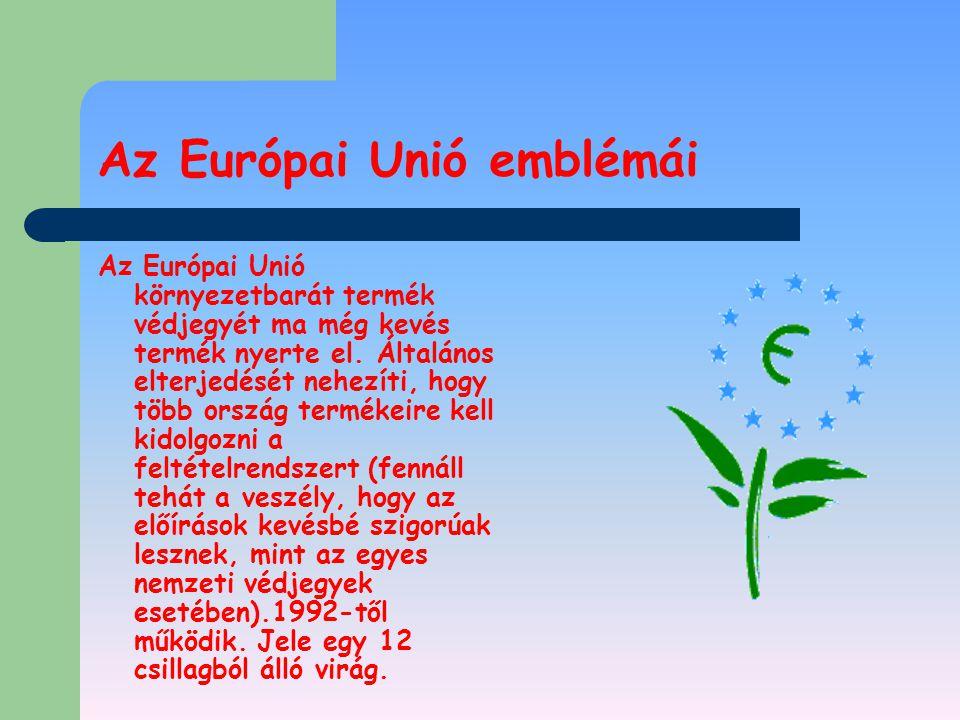 Az Európai Unió emblémái