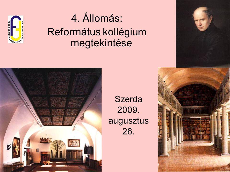 Református kollégium megtekintése