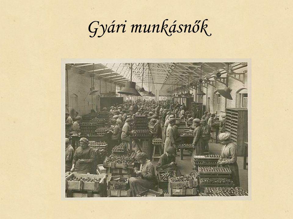 Gyári munkásnők