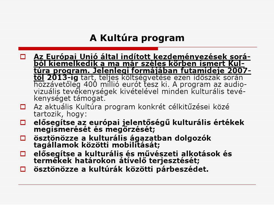 A Kultúra program