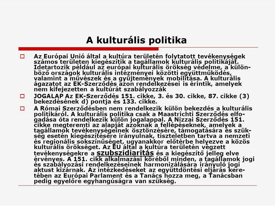 A kulturális politika
