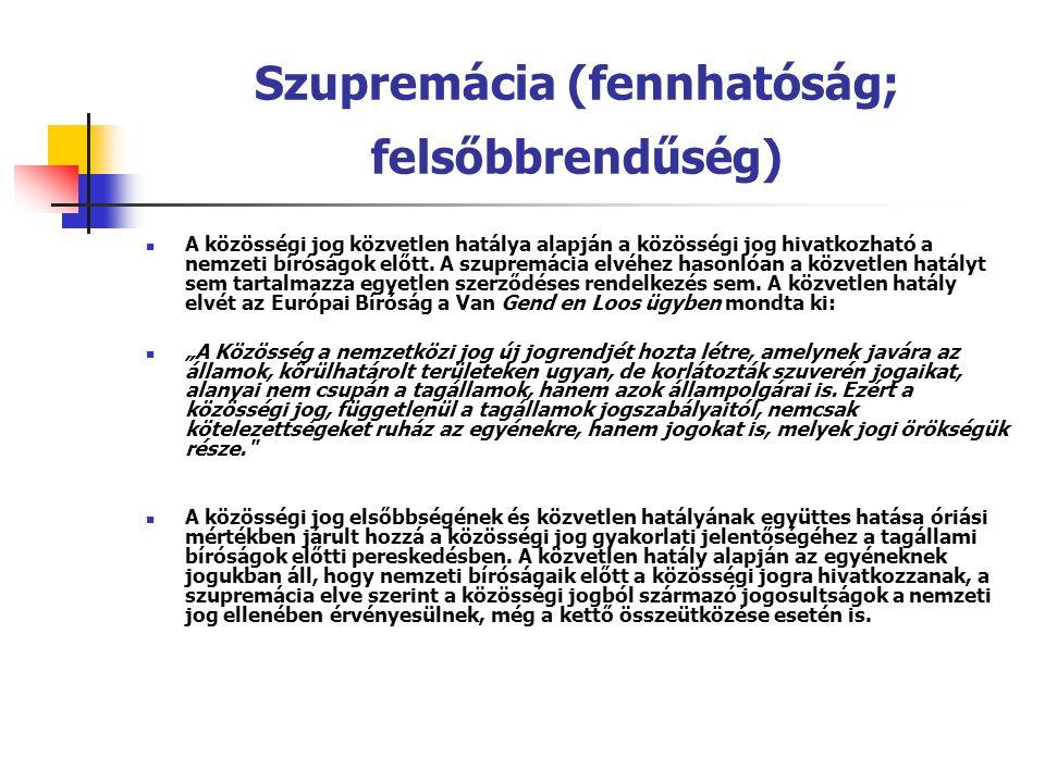 Szupremácia (fennhatóság; felsőbbrendűség)