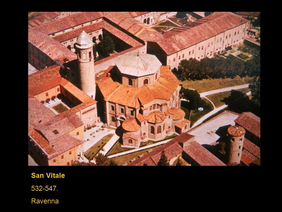 San Vitale 532-547. Ravenna