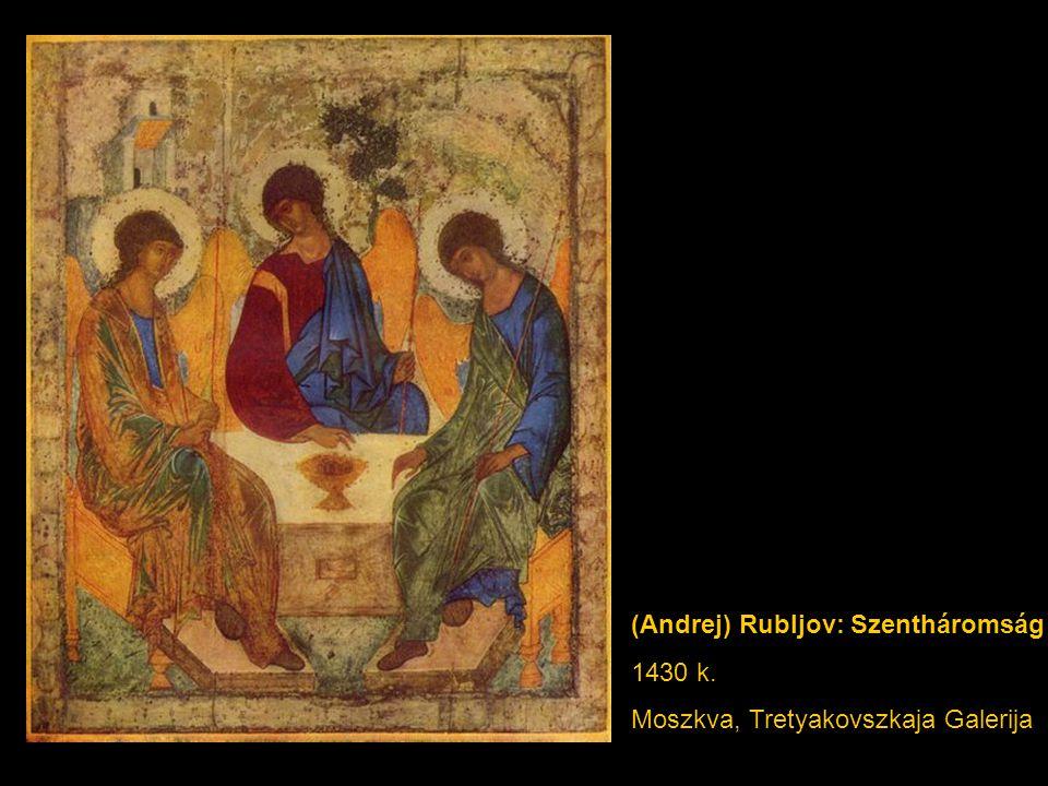 (Andrej) Rubljov: Szentháromság