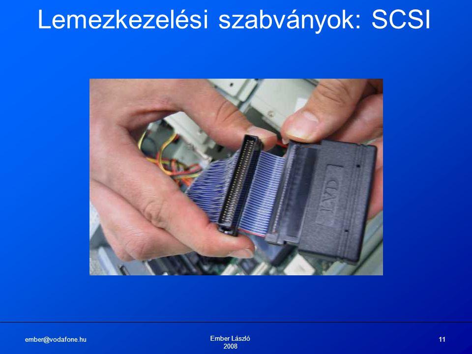 Lemezkezelési szabványok: SCSI