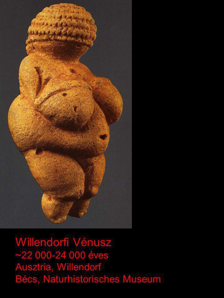 Willendorfi Vénusz ~22 000-24 000 éves Ausztria, Willendorf