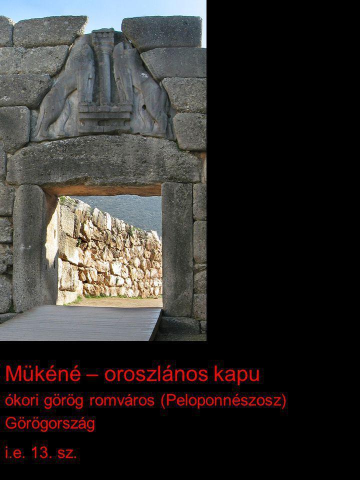 Mükéné – oroszlános kapu