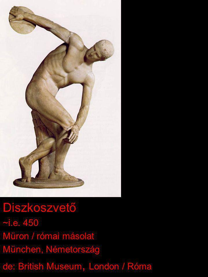 Diszkoszvető ~i.e. 450 Müron / római másolat München, Németország