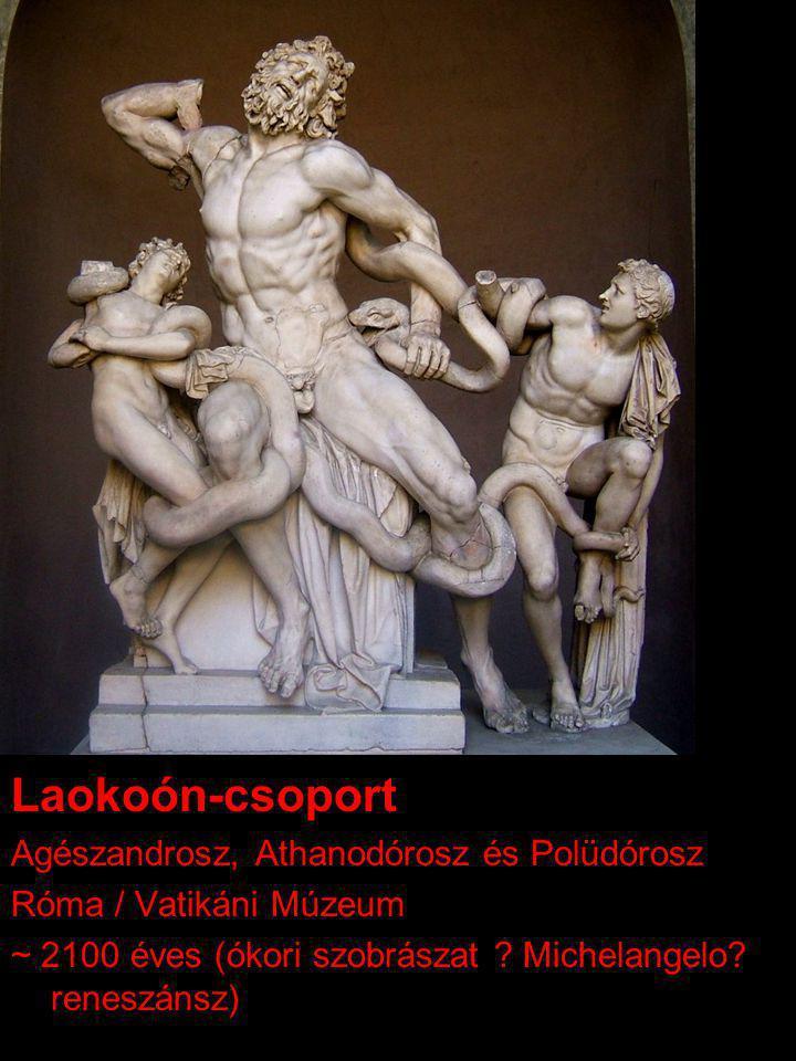 Laokoón-csoport Agészandrosz, Athanodórosz és Polüdórosz