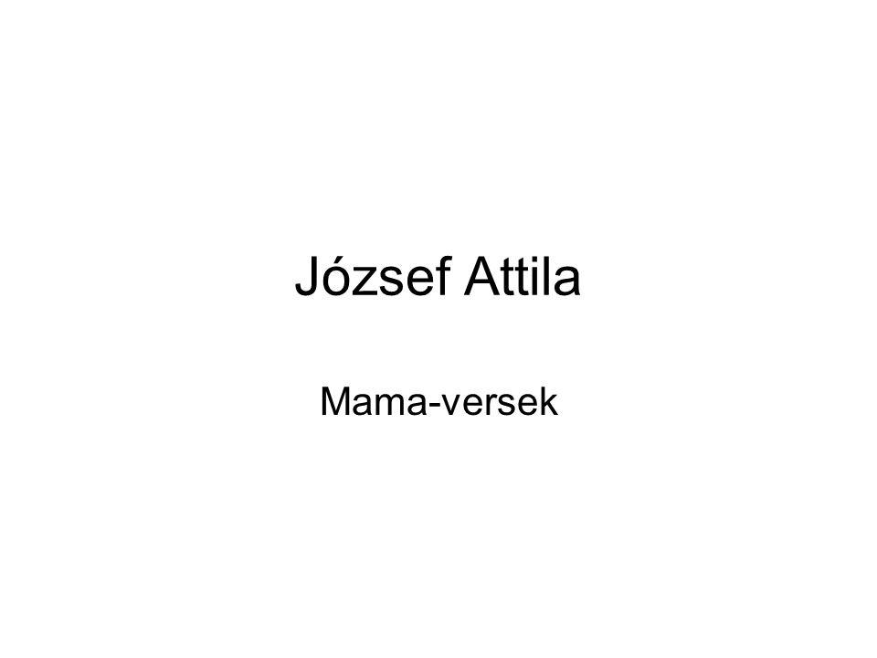József Attila Mama-versek