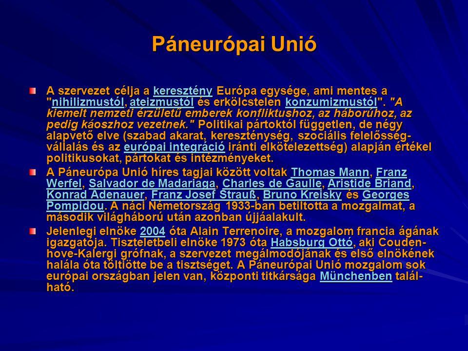 Páneurópai Unió