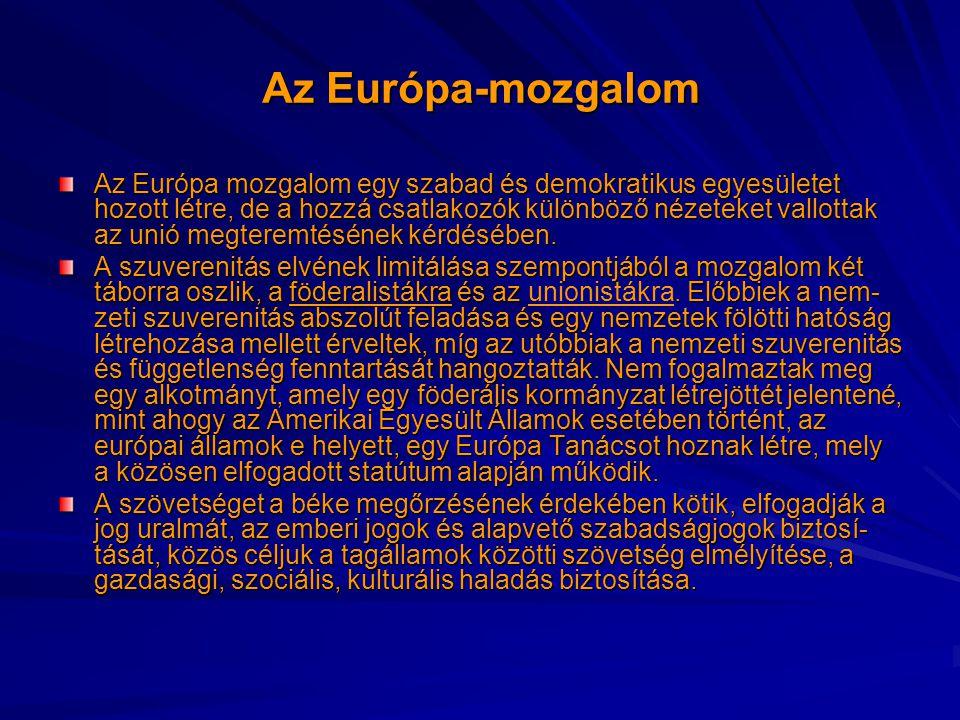 Az Európa-mozgalom