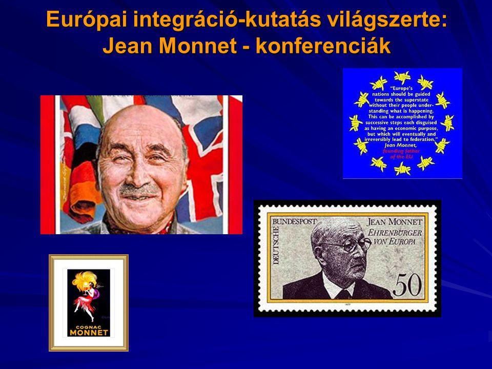 Európai integráció-kutatás világszerte: Jean Monnet - konferenciák