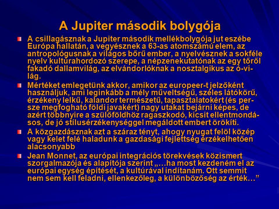 A Jupiter második bolygója