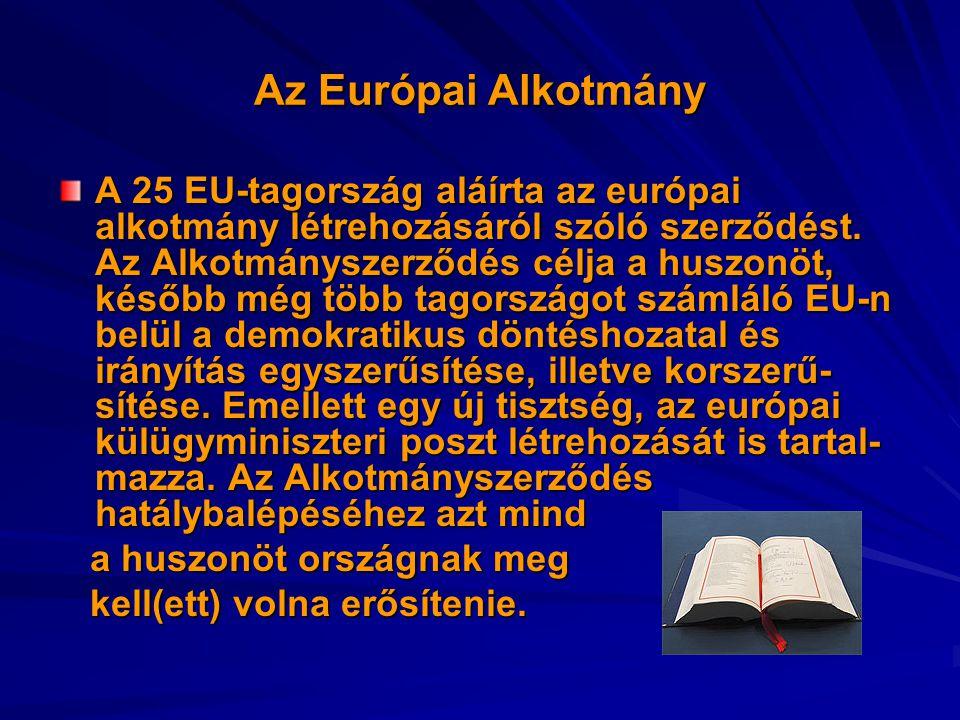 Az Európai Alkotmány