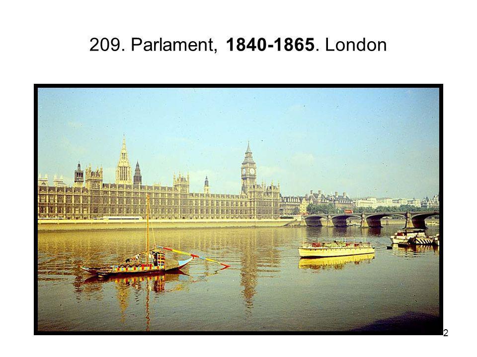 209. Parlament, 1840-1865. London