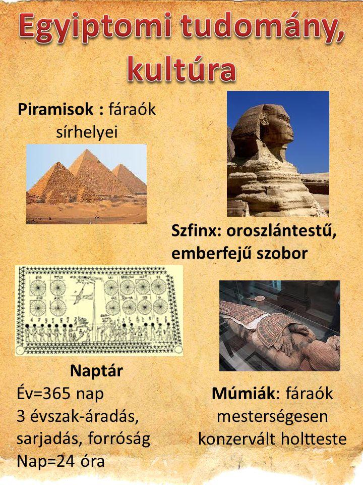 Egyiptomi tudomány, kultúra