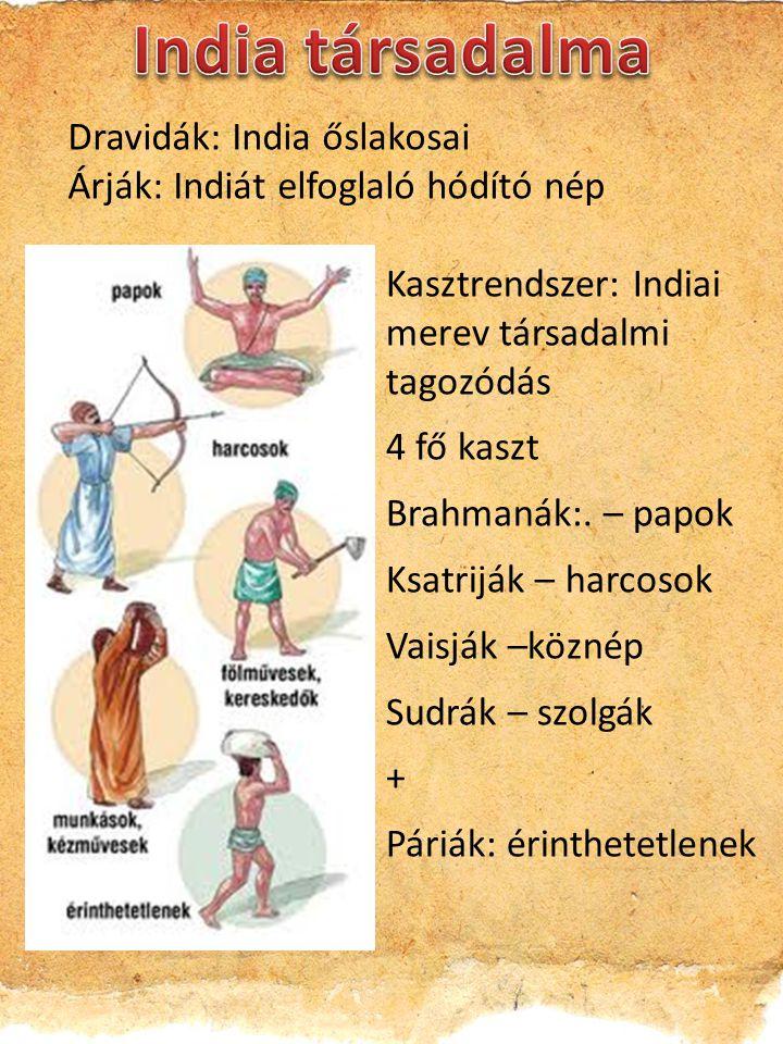 India társadalma Dravidák: India őslakosai
