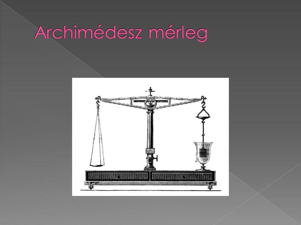 Archimédesz mérleg