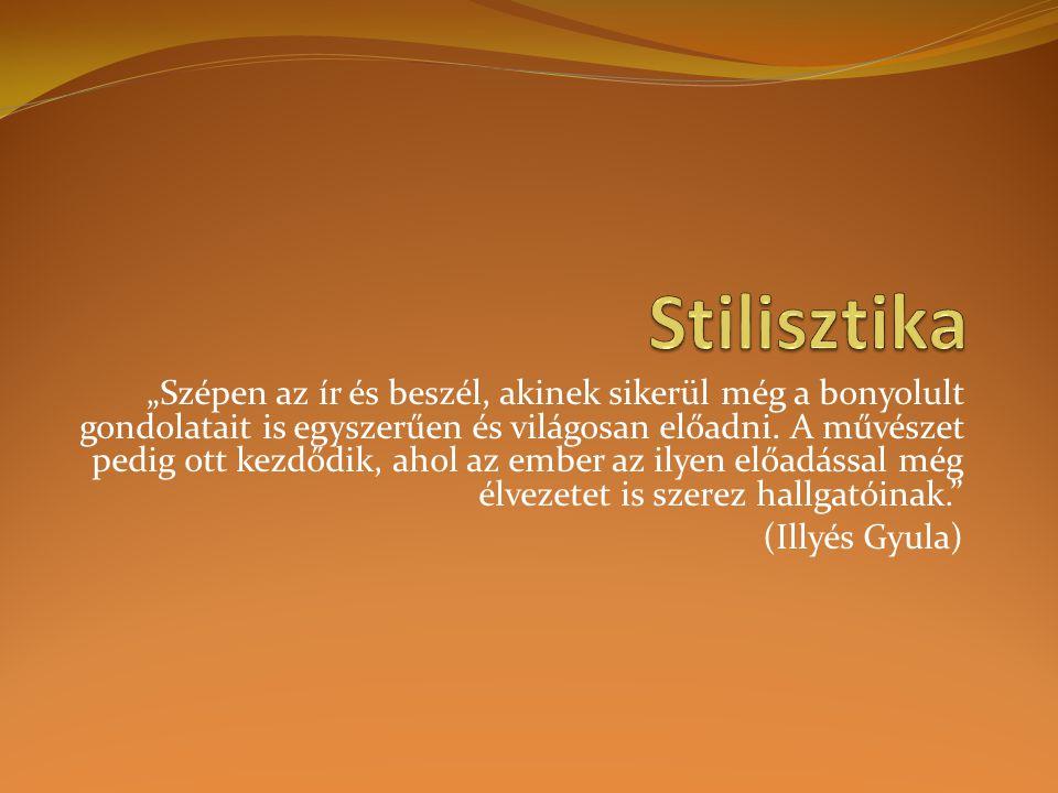 Stilisztika