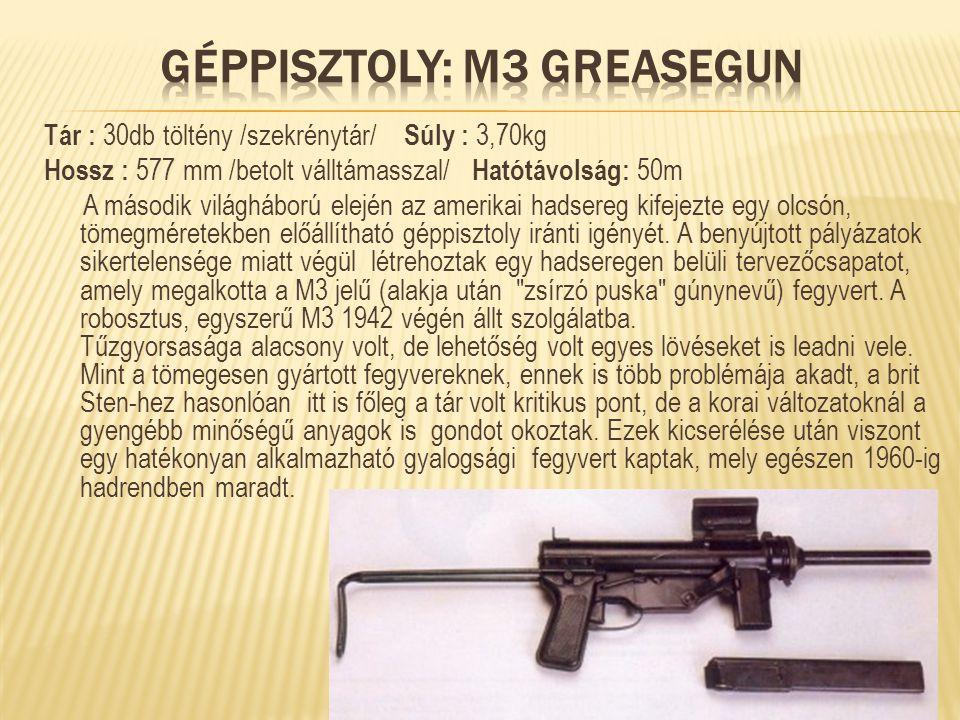 Géppisztoly: M3 Greasegun