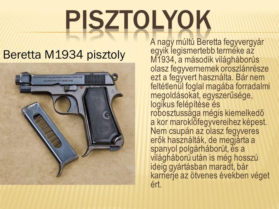 Pisztolyok Beretta M1934 pisztoly