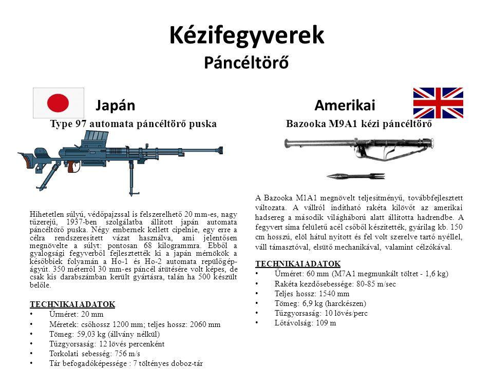 Kézifegyverek Páncéltörő