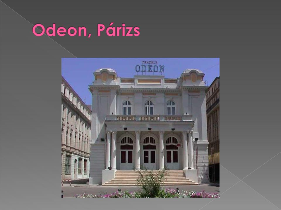 Odeon, Párizs