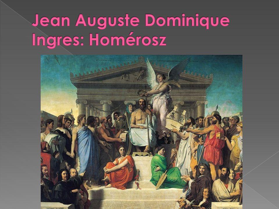 Jean Auguste Dominique Ingres: Homérosz